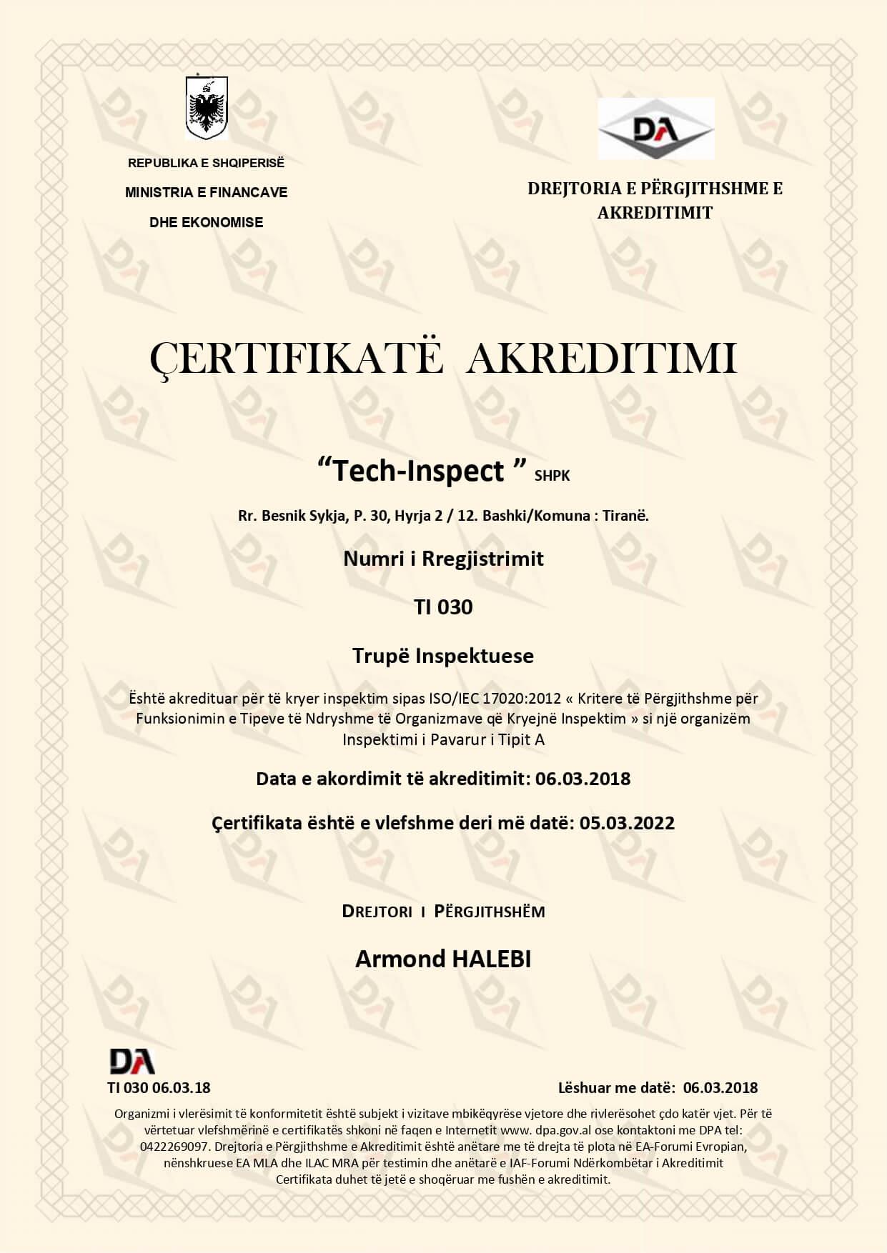Certifikate akreditimi (1)
